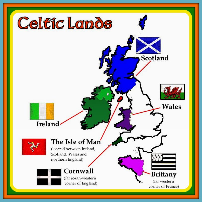 the six celtic nations