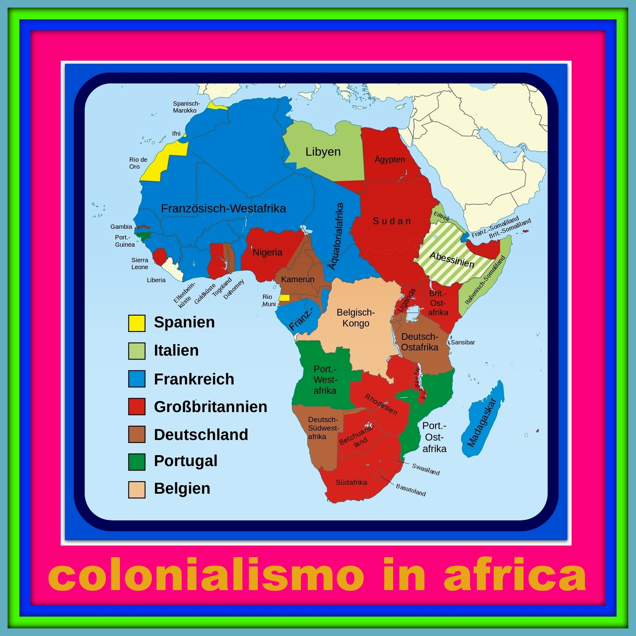 colonialismo in africa